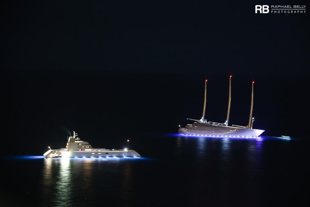 Motor Yacht A Sailing Yacht A