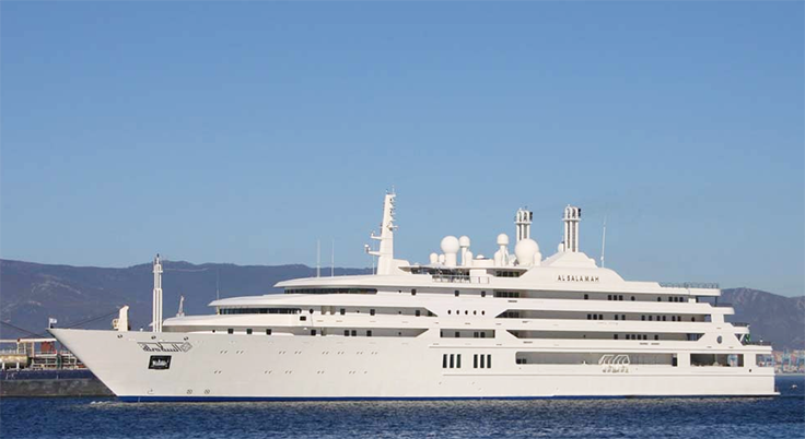 Top 10 Largest Yachts in the World